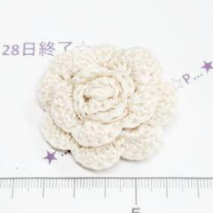 28*�@スタ*ハンドメイド♪1輪薔薇のコサージュピン 31