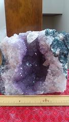 2、6キロ!ウルグアイ産アメジストクラスター原石!