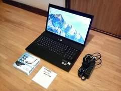 新品バッテリー HP 4710s 17インチ Wi-Fi Webカメラ ワンセグ