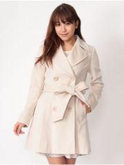 新品タグ付CECIL12960円セシルマクビーベージュAラインPコートアウタージャケット
