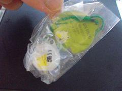 蛙ストラップ(二鷹、白)新品