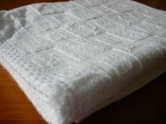 sunheart白バスタオル1枚薄手タイプ高品質