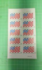 アメリカグリーティング切手33c×10枚(国旗)♪