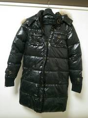新品◆EGOIST◆エゴイストダウンジャケットコート黒