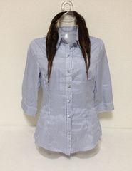 ストライプ☆シャツ M