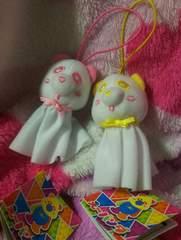 《AAA え〜パンダ♪てるてるマスコット》ピンク&イエロー