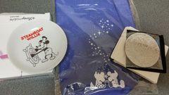 ディズニーモバイル☆ランチバッグ&ミラー&小皿☆ノベルティ