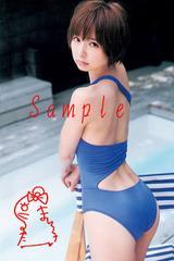 【送料無料】 AKB篠田麻里子 写真5枚セット<サイン入>24