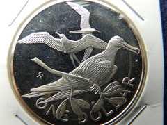 1ドルプルーフ銀貨26.87g1974年新品