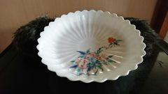 元禄…濁し手…ざくろ紋様様式菊型皿