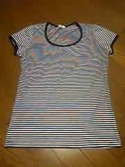 Tシャツ/ボーダー/M/160同等/子供から大人まで大丈夫です