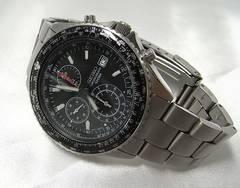 確実本物保証セイコークロノグラフ メンズ腕時計7T92-0CF0