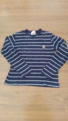 紺色ボーダー長袖Tシャツ��1023