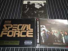 NITRO MICROPHONE UNDERGROUND アルバム2枚+DVDセット 廃盤/新品