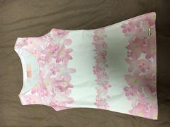 Rady☆未使用品ピンク花柄×白トップス