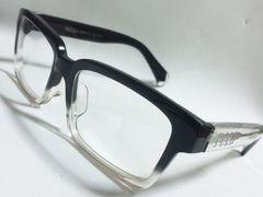 6713/recsレックス人気のハンドメイド伊達メガネ状態良好でオススメです