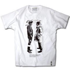 送料無料!新品MODS VS ROCKERS Tシャツ 白 M