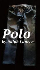 【POLO】ラルフローレン Vintage Washed クラシックストレートジーンズ 36/L.Wash