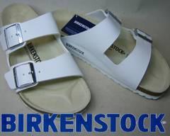 ビルケンシュトック新品アリゾナ白ARIZONA051731ホワイト36