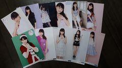 つばきファクトリー小野田紗栞2L判生写真11枚詰め合わせ福袋
