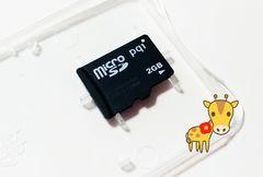 送料無料 新品 pqi マイクロSD 2GB microSD 初期不良保証します