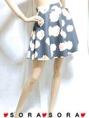 【CECIL McBEE/セシルマクビー】花柄スカート