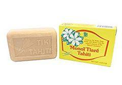 Monoi Tiare Tahiti タヒチモノイ ココナッツオイル石鹸 ティアレの香り 130g★ハワイ