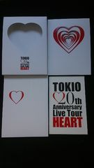 TOKIO 20th Anniversary Live Tour HEART 初回限定 ライブDVD