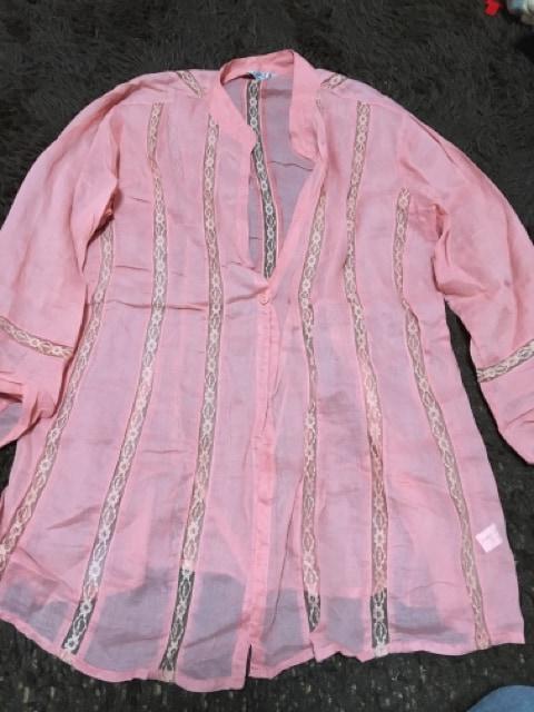 シースルー  ジャケット  春夏物 重ね着 少し大きいサイズ  < 女性ファッションの
