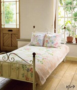 カシュカシュマルチクロス ベッドカバー 花柄 インテリア雑貨