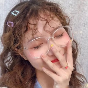 韓国ファッション クリア 伊達メガネ 大人気 送料無料