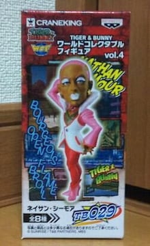 TIGER&BUNNY ワールドコレクタブルフィギュア vol.4 TB029 ネイサン シーモア