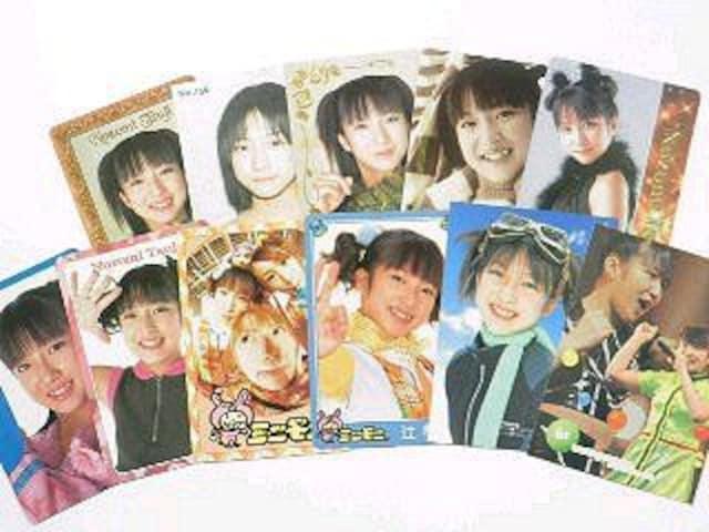 【辻希美】トレーディング.コレクションカード.トレカ11枚セット�@ < タレントグッズの