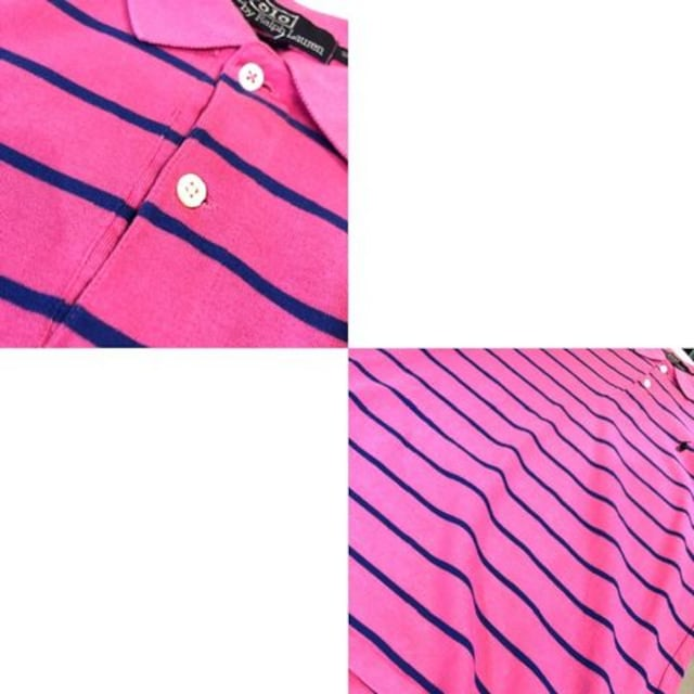 Ralph Lauren■ポロシャツ■USA製■ラルフローレン■ピンク < ブランドの