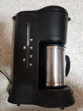 コーヒーメーカー山善