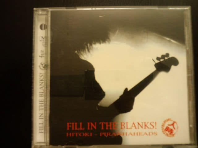 人時「FILL IN THE BLANKS!」黒夢  < タレントグッズの