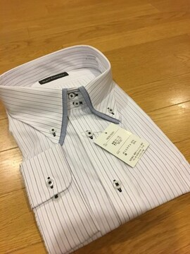 MARIO ESPERANZA ビジネスストライプYシャツ size8LB  4XL   5