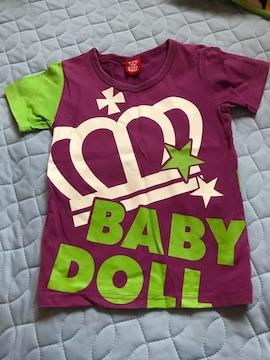 ベビードールTシャツ 120センチ 美品