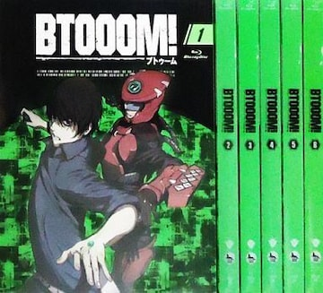 BTOOOM 全6巻セット Blu-ray