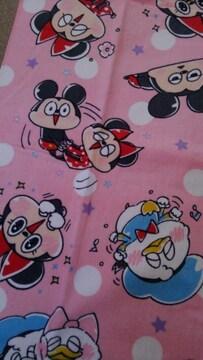 ディズニー!ニッコリと和み!可愛い!新品!バスタオル!60×120センチ