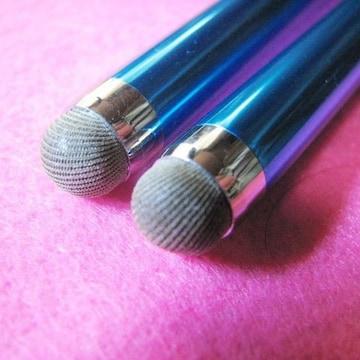 タッチペン2本☆とても使いやすく耐久性抜群☆導電性繊維使用