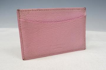 TIFFANY&&CO. ティファニー カードケース パスケース ピンク