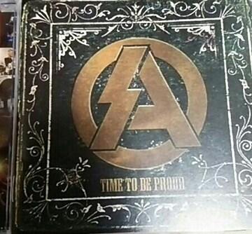 廃盤限定CD SA タイム.トゥ.ビー.プラウド 帯あり エスエー