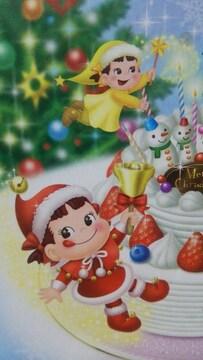 不二家ペコちゃんクリスマスプレート2012ペコちゃんサンタ未使用箱入