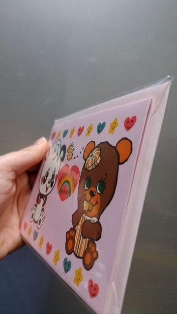 新品★「グラグラ」とびだすメッセージカード!封筒付=定価630 < ブランドの
