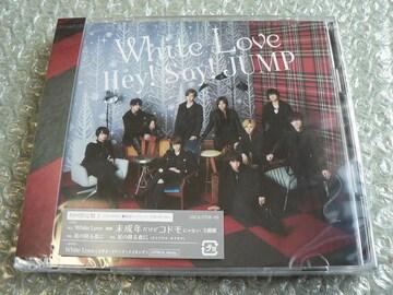新品/Hey!Say!JUMP『White Love』CD+DVD【初回限定盤1】他に出品