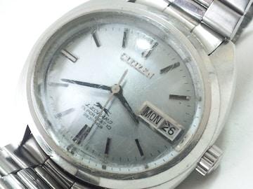 10618/シチズン/レオパード★アンティークの変わりケース自動巻メンズ腕時計格安