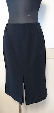 C DE C スリットスカート黒