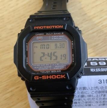 値下 返品保証 美品G-SHOCK GW-M5610R  タフソーラー 3159