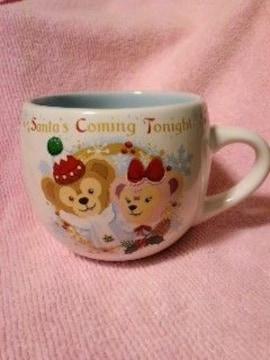 DisneyTDS2013クリスマススーベニアカップダッフィーシェリーメイ